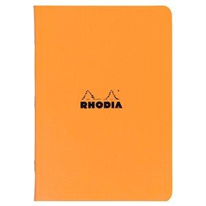Rhodia Orange Staplebound Notebook