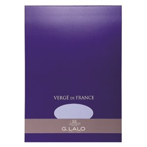 Bloc Papier A4 Vergé de France