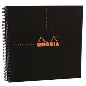 Rhodia Wirebound Reversible Notebook