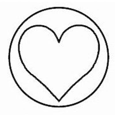Sceau et manche de bois Coeur