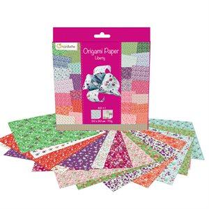 Papier Origami 60 fls assorties Liberté