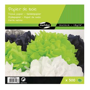 Papier de soie assorties